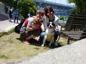 淡路島で記念撮影