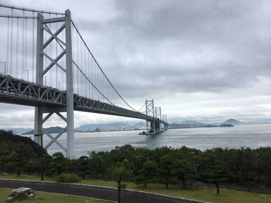 犬連れ旅行|瀬戸大橋