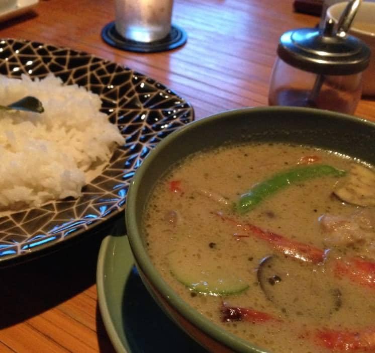 【犬連れで茨城】ステーキ&タイ料理!キッチンリゾート ソヌーテのグリーンカレー