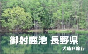 御射鹿池 長野県