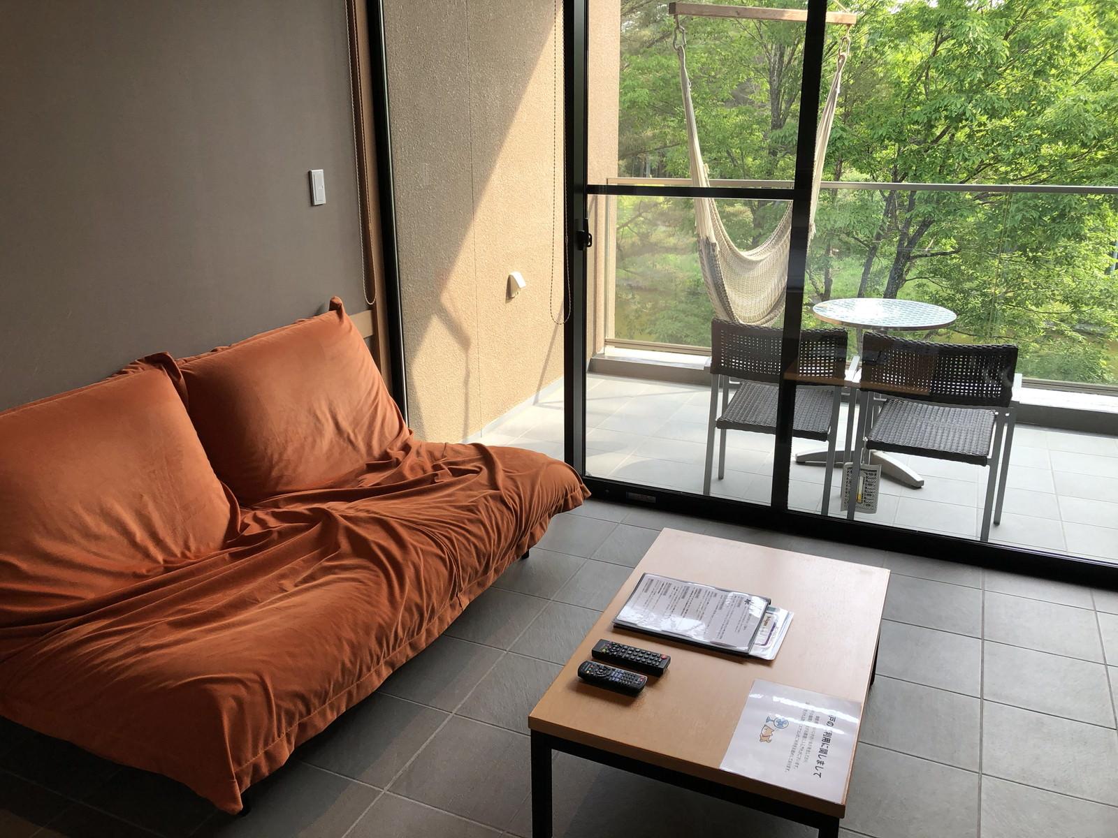 部屋にあるソファー