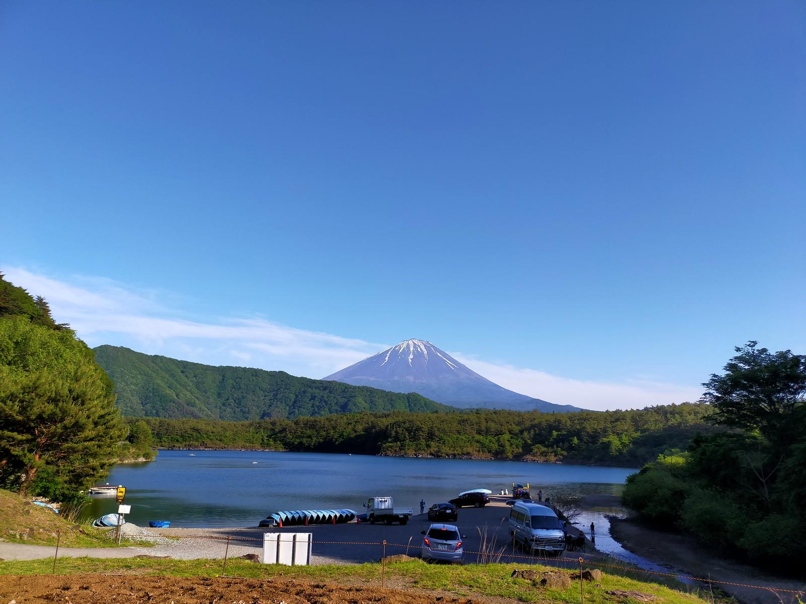 富士山と西湖