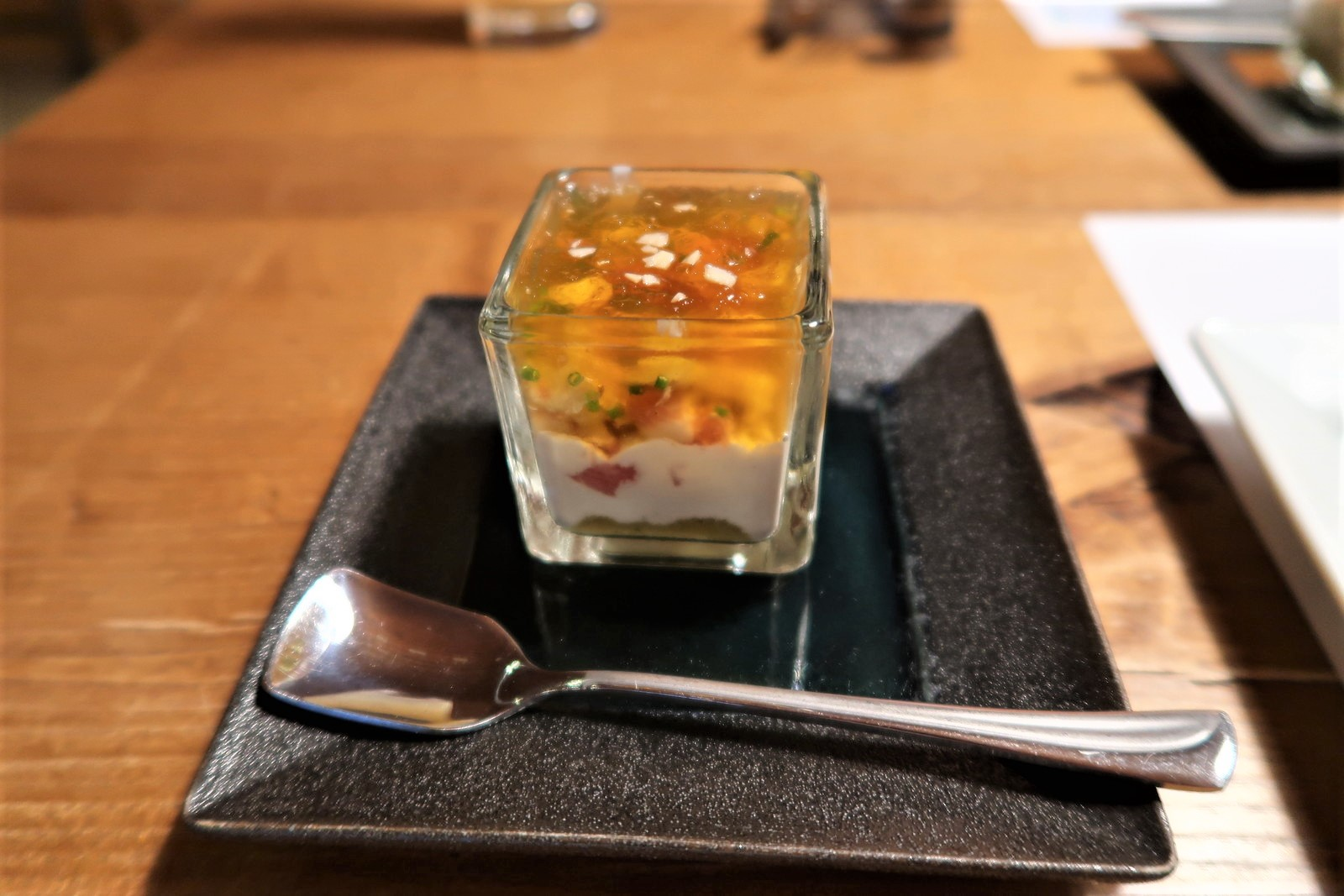 茄子 鮪 無花果 ブルーチーズのクリーム
